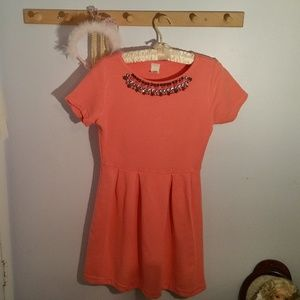 J Crew Crewcuts Size 14 Peach Colored Party Dress